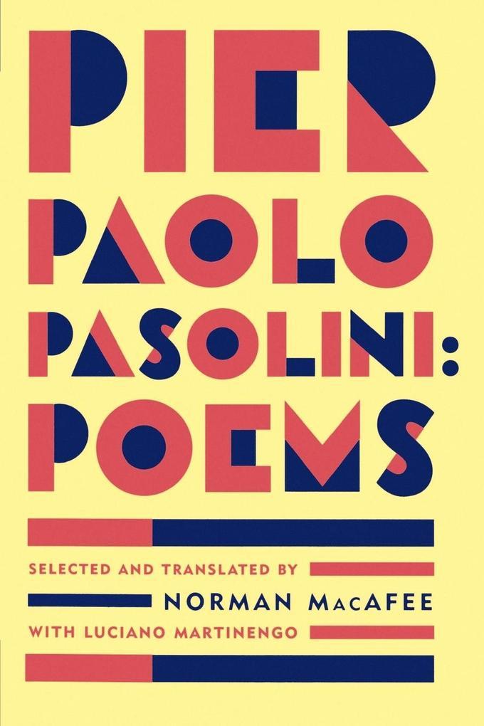 Pier Paolo Pasolini Poems als Buch