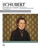 """Schubert -- Allegro in a Minor, Op. 144 (""""lebensstürme"""")"""