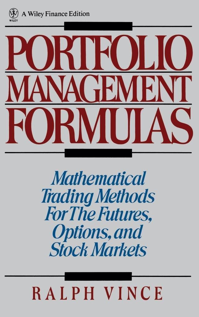 Portfolio Management Formulas als Buch (gebunden)