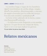 Relatos Mexicanos, m. Audio-CD