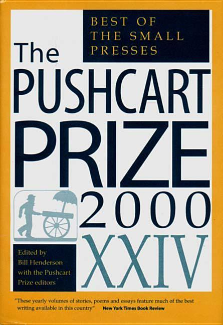 The Pushcart Prize XXIV: Best of the Small Presses als Buch (gebunden)