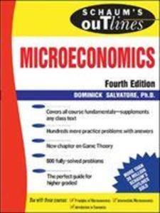 Schaum's Outline of Microeconomic Theory als Taschenbuch