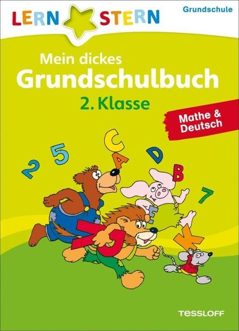 Lernstern: Mein dickes Grundschulbuch 2. Klasse. Mathe & Deutsch als Mängelexemplar