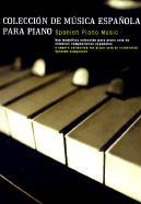Coleccion de Musicsa Espanola Para Piano als Taschenbuch