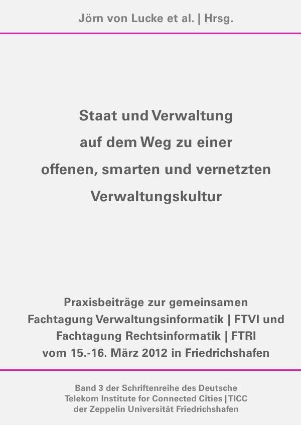 Staat und Verwaltung auf dem Weg zu einer offenen, smarten und vernetzten Verwaltungskultur als Buch (kartoniert)