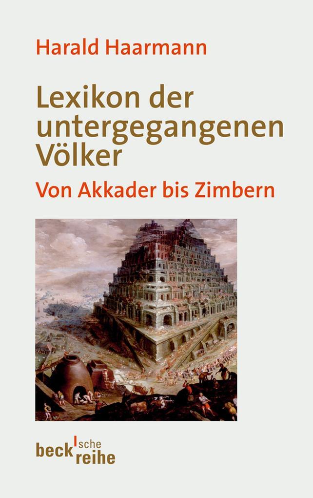 Lexikon der untergegangenen Völker als eBook epub