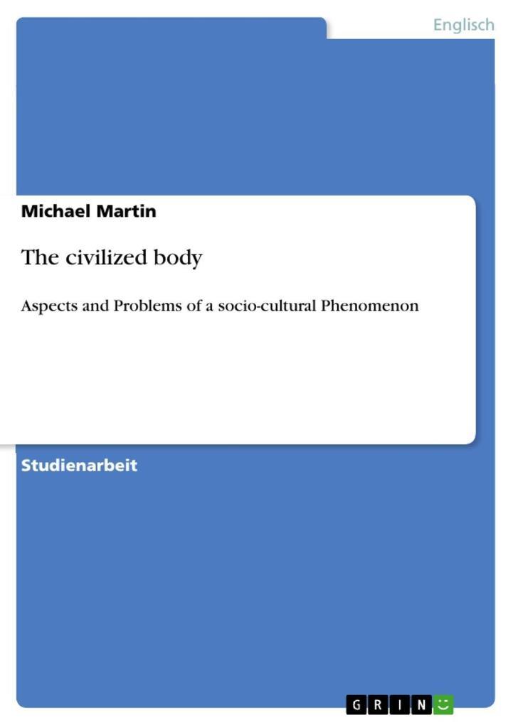 The civilized body als eBook epub