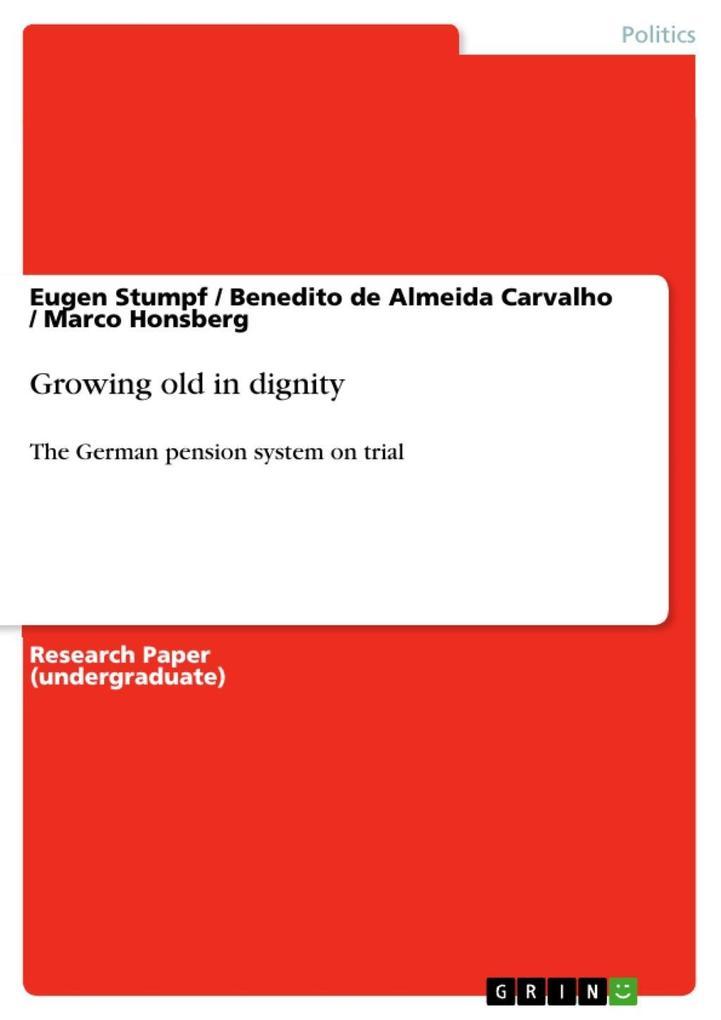 Growing old in dignity als eBook epub