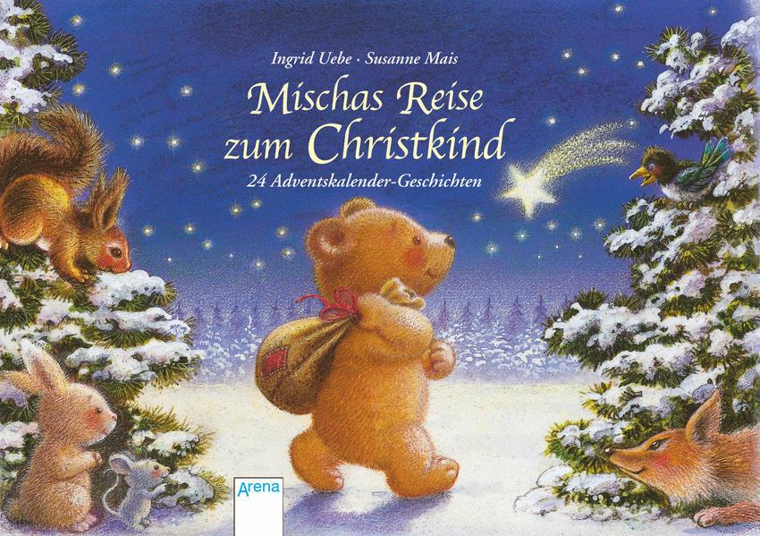 Mischas Reise zum Christkind als Buch (kartoniert)