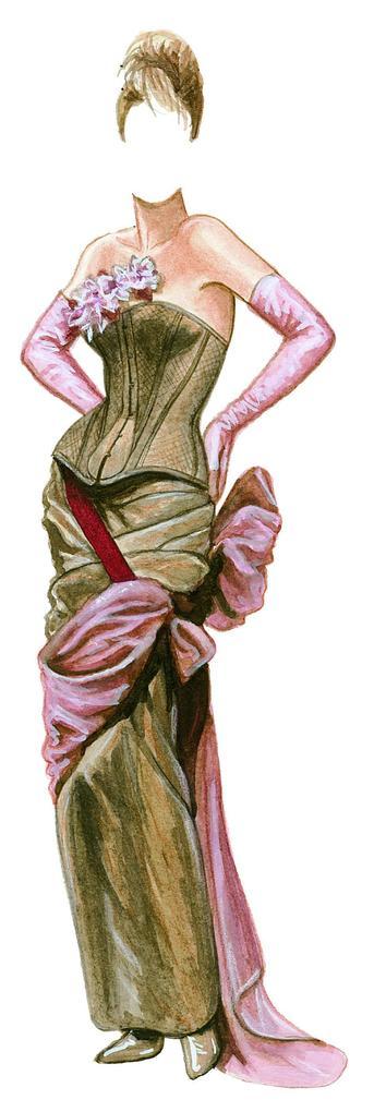 Corset Couture Paper Dolls als Taschenbuch