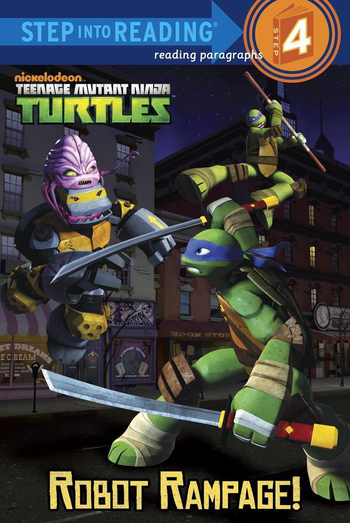 Robot Rampage! (Teenage Mutant Ninja Turtles) als Taschenbuch