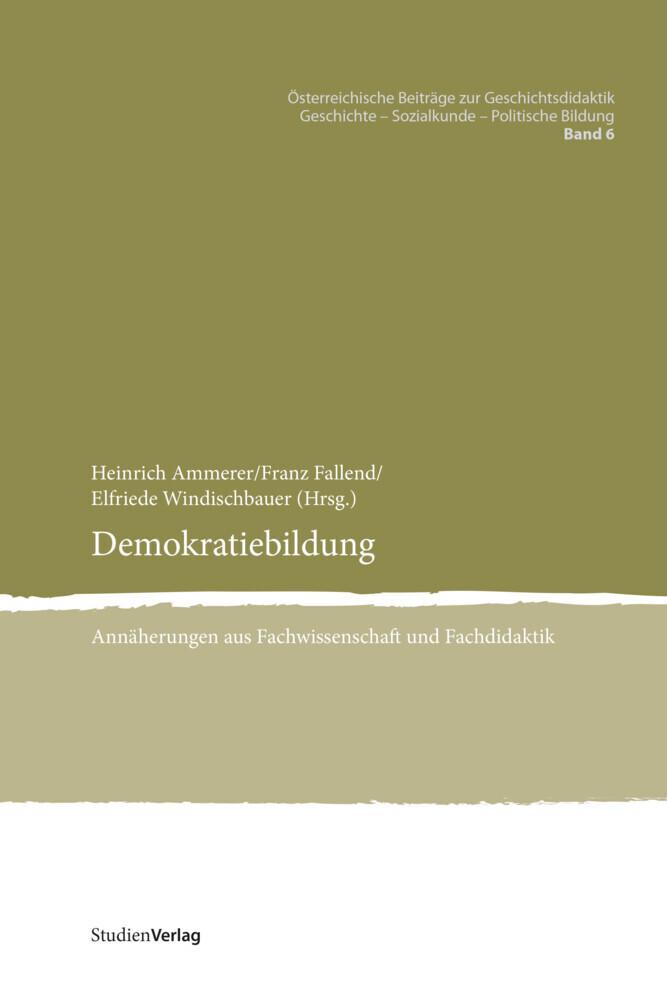 Demokratiebildung als Buch (kartoniert)