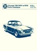 Triumph TR6 Spare Parts Catalogue: 1974-1976