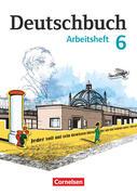 Deutschbuch 6. Schuljahr. Arbeitsheft mit Lösungen. Gymnasium Östliche Bundesländer und Berlin