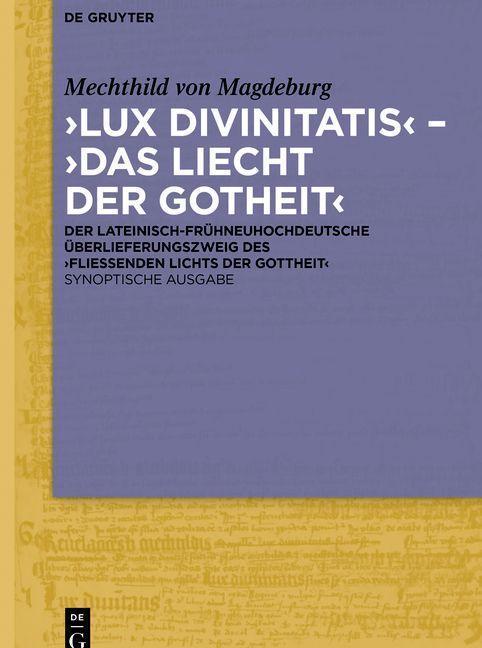 ,Lux divinitatis' - ,Das liecht der gotheit' als eBook pdf