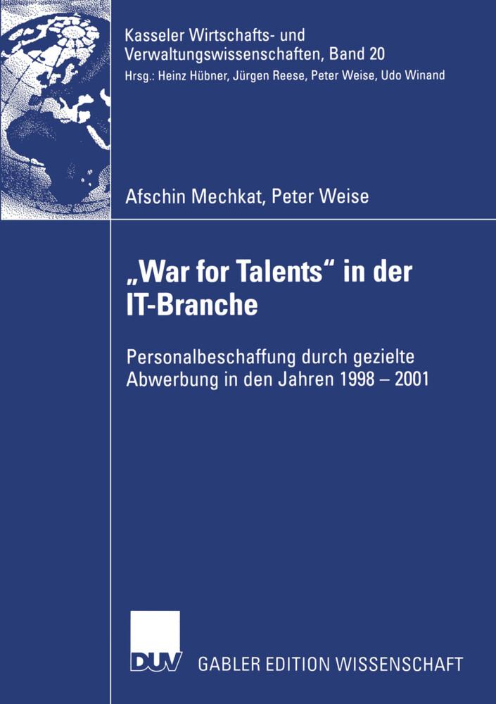 """""""War for Talents"""" in der IT-Branche als Buch (kartoniert)"""