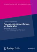 Konsumenteneinstellungen im Social Web