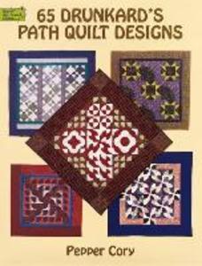 65 Drunkard's Path Quilt Designs als Taschenbuch