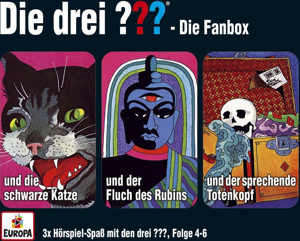 Die drei ??? Box 02. Folgen 4-6 (drei Fragezeichen) 3 CDs als CD
