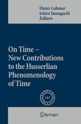 On Time - New Contributions to the Husserlian Phenomenology of Time