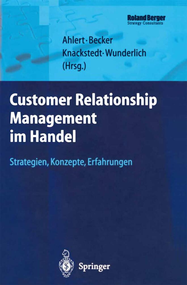 Customer Relationship Management im Handel als Buch (gebunden)