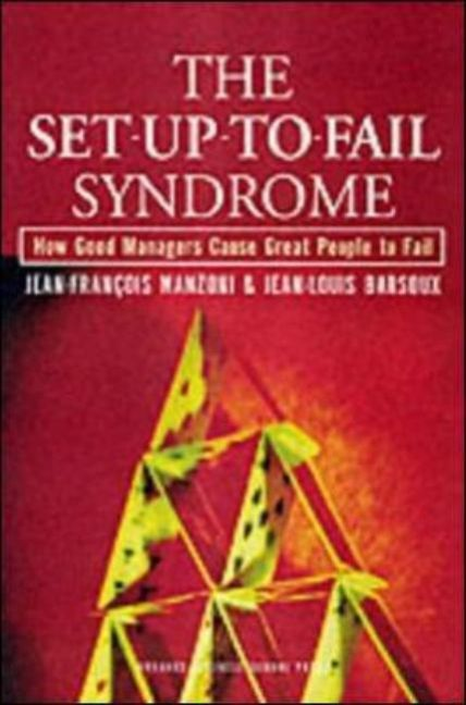 The Set-Up-To-Fail Syndrome als Buch (gebunden)