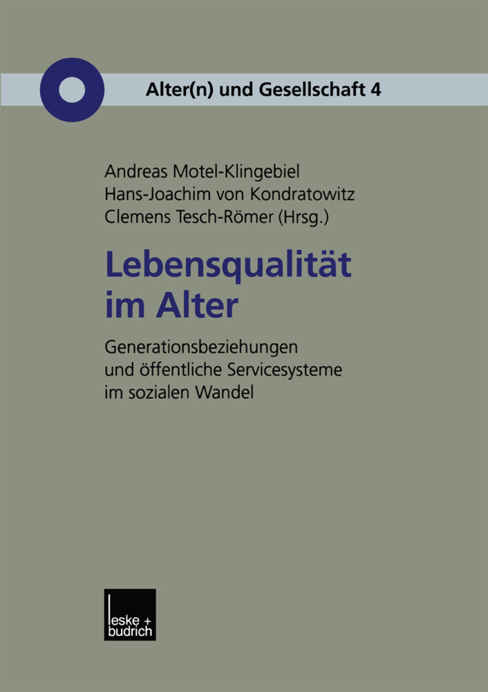 Lebensqualität im Alter als Buch (kartoniert)