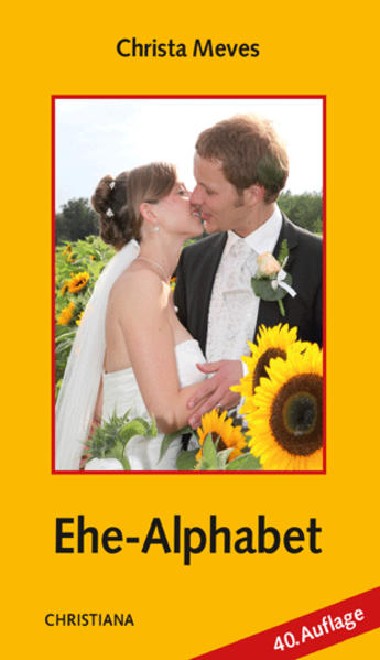 Ehe-Alphabet als Buch (kartoniert)