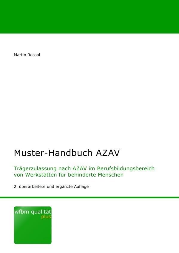 Muster-Handbuch AZAV als Buch (kartoniert)