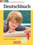 Deutschbuch 1: 5. Schuljahr. Schülerbuch Realschule Baden-Württemberg