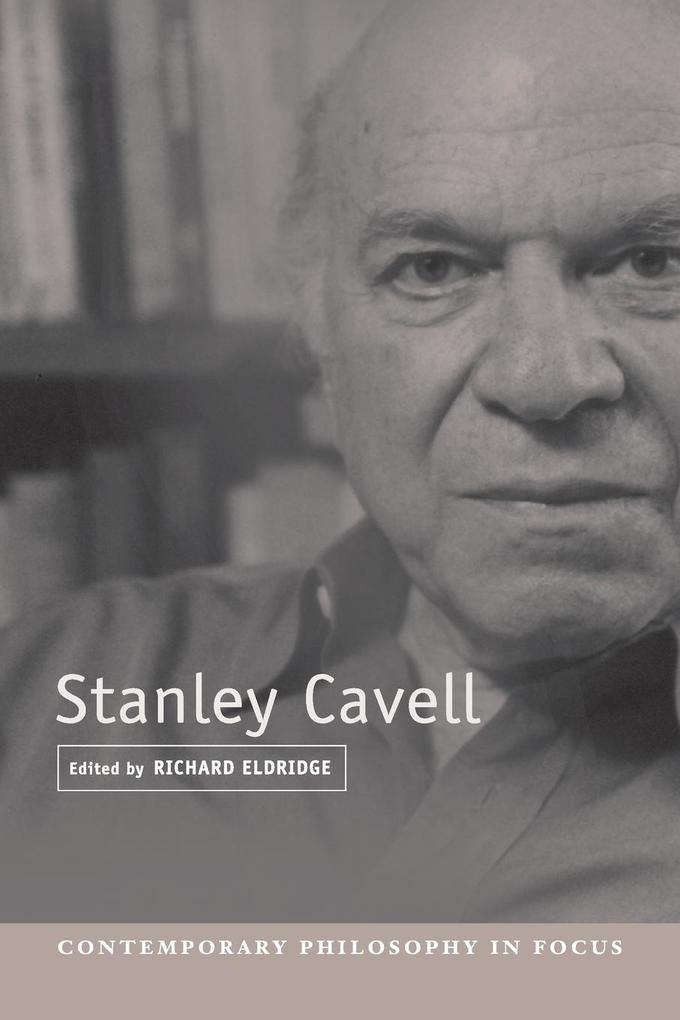 Stanley Cavell als Buch (kartoniert)