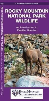 Rocky Mountain National Park Wildlife: A Folding Pocket Guide to Familiar Animals als Taschenbuch