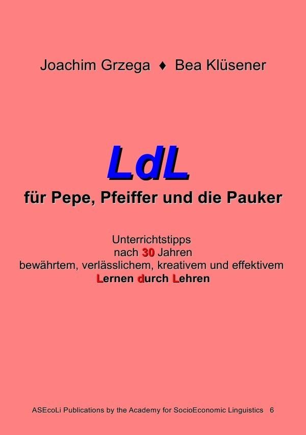 LdL für Pepe, Pfeiffer und die Pauker als Buch (kartoniert)