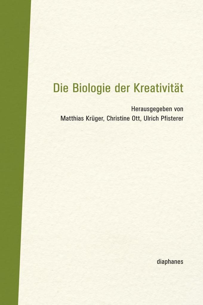 Die Biologie der Kreativität als Buch (gebunden)