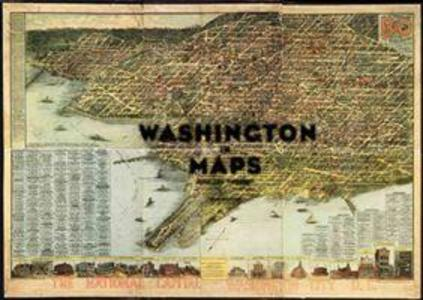 Washington in Maps als Buch (gebunden)