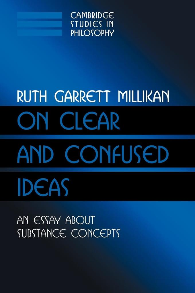 On Clear and Confused Ideas als Buch (kartoniert)