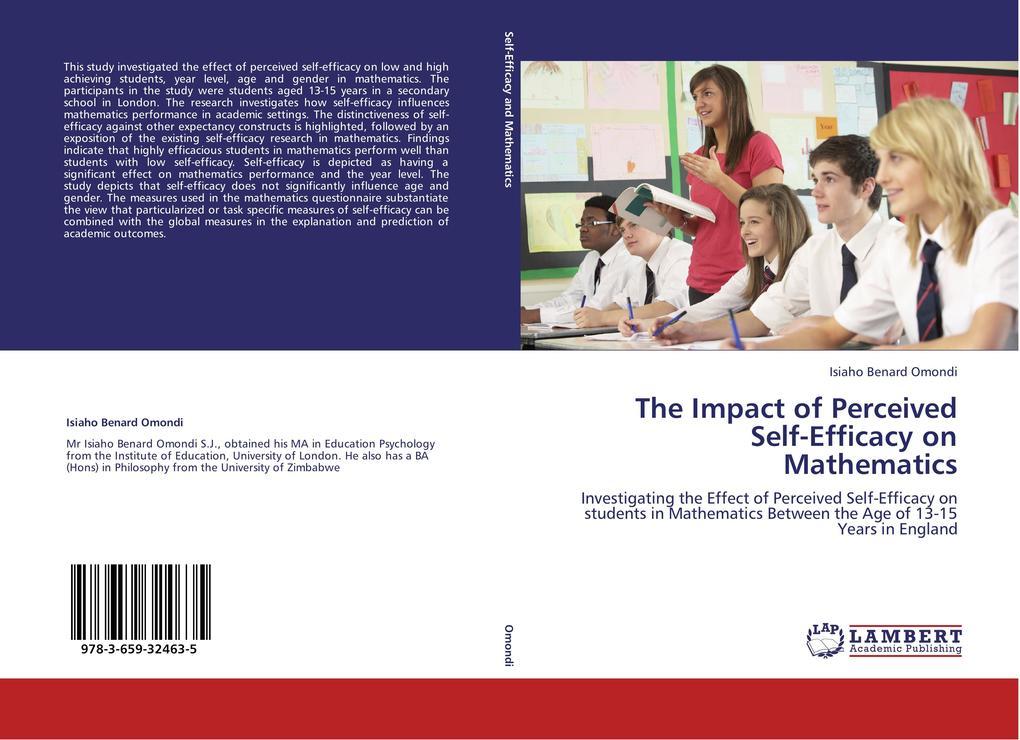 The Impact of Perceived Self-Efficacy on Mathematics als Buch (kartoniert)