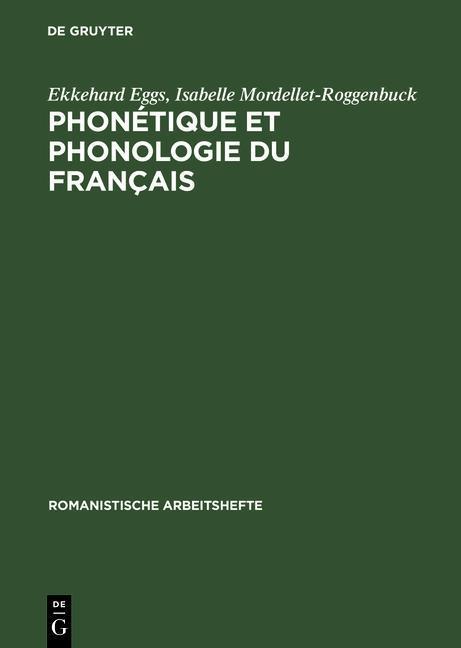 Phonétique et phonologie du français als eBook pdf