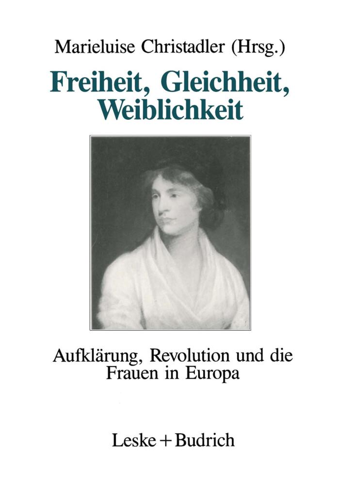 Freiheit, Gleichheit, Weiblichkeit als Buch (kartoniert)