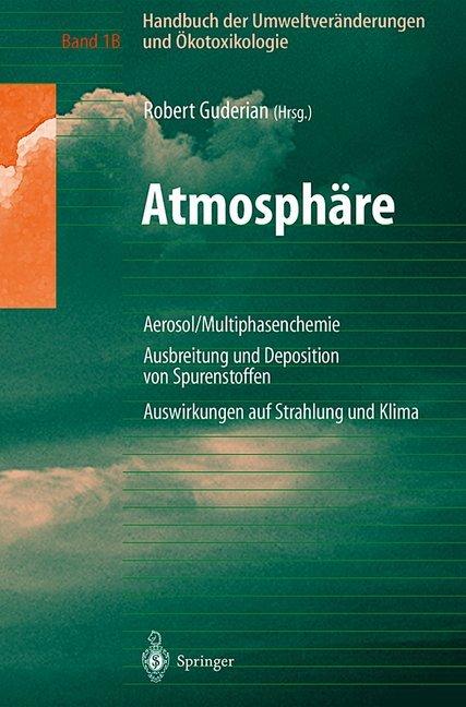Handbuch der Umweltveränderungen und Ökotoxikologie als Buch (kartoniert)