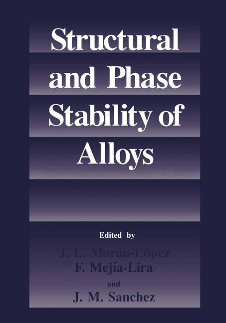 Structural and Phase Stability of Alloys als Buch (kartoniert)