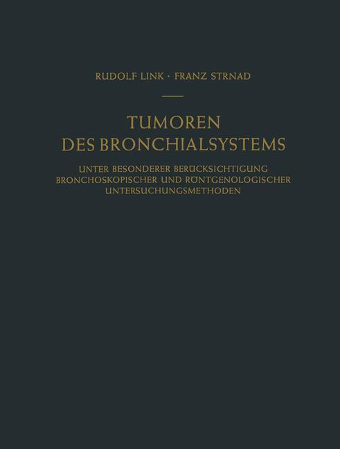 Tumoren des Bronchialsystems als Buch (kartoniert)