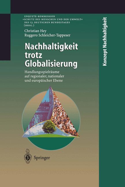 Nachhaltigkeit trotz Globalisierung als Buch (kartoniert)