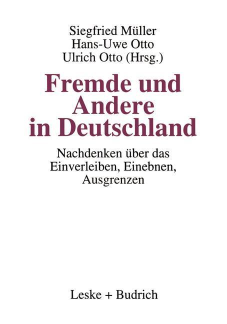 Fremde und Andere in Deutschland als Buch (kartoniert)