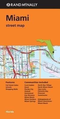 Rand McNally: Miami Street Map als Blätter und Karten