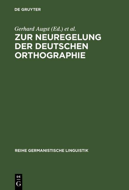 Zur Neuregelung der deutschen Orthographie.pdf