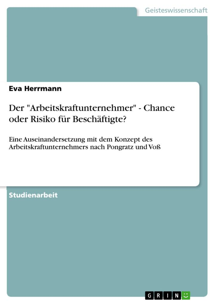 Der Arbeitskraftunternehmer - Chance oder Risiko für Beschäftigte?.pdf