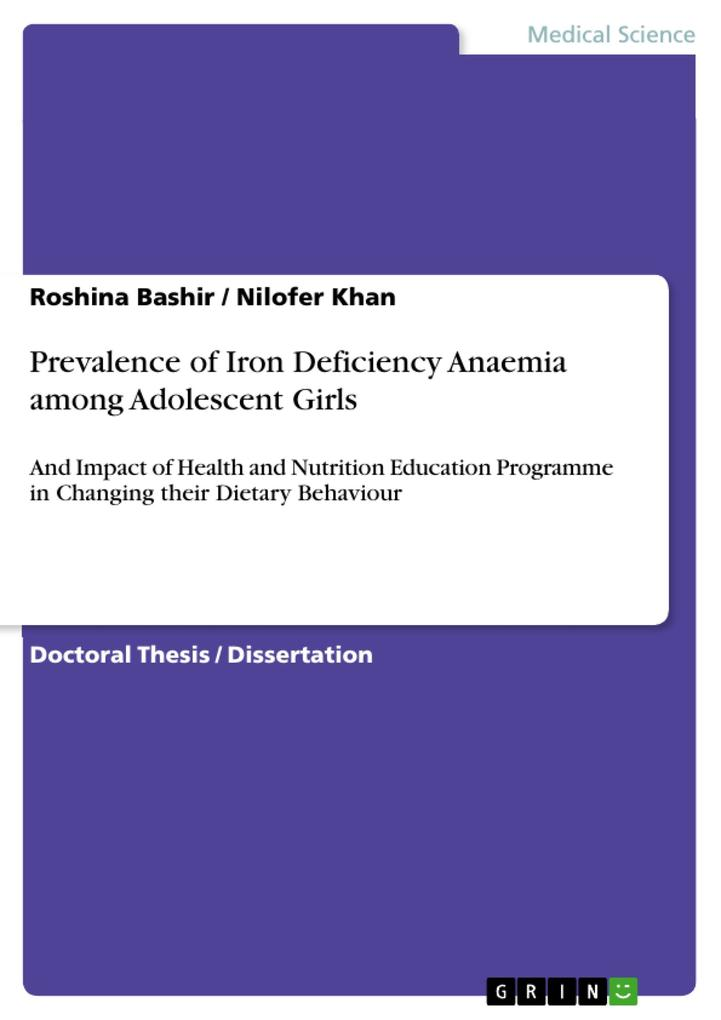 Prevalence of Iron Deficiency Anaemia among Adolescent Girls.pdf