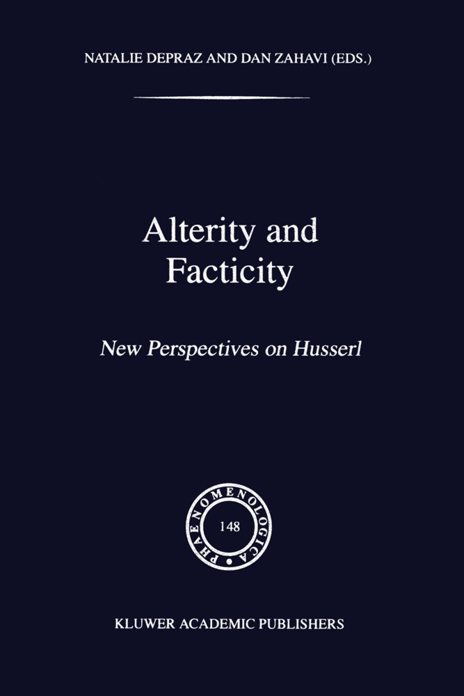 Alterity and Facticity als Buch (gebunden)