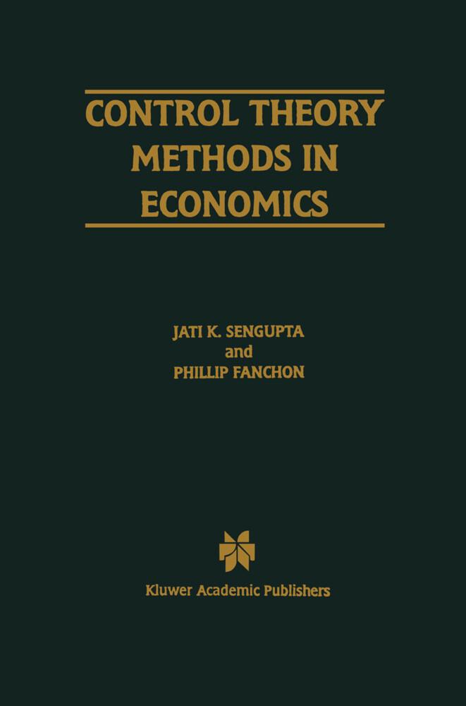 Control Theory Methods in Economics als Buch (gebunden)